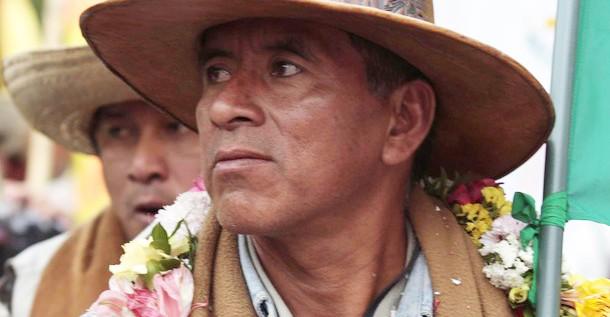 Indígena: No queremos tumbar a Morales