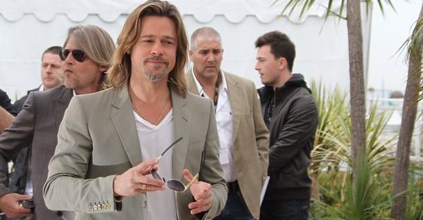 """Brad Pitt: """"Vivimos en un mundo de violencia y es importante filmarla"""""""