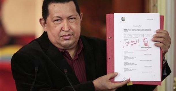 Chávez anuncia vía Twitter millonarios desembolsos para diversos sectores