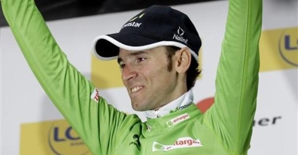 """Valverde: """"Si todo me sale bien, aspiro al podio"""""""
