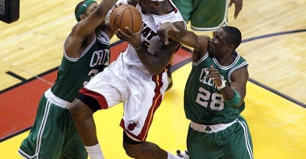 El duelo del séptimo partido entre los Heat y los Celtics fue el más visto