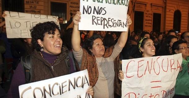 Los paraguayos, entre la indiferencia y la resignación ante crisis política