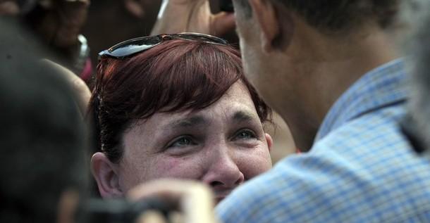 Mujer agradece entre lágrimas a Obama su reforma sanitaria