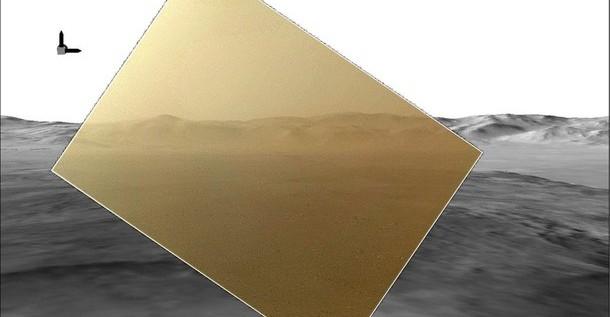 Curiosity envía sus primeras fotografías a color de Marte
