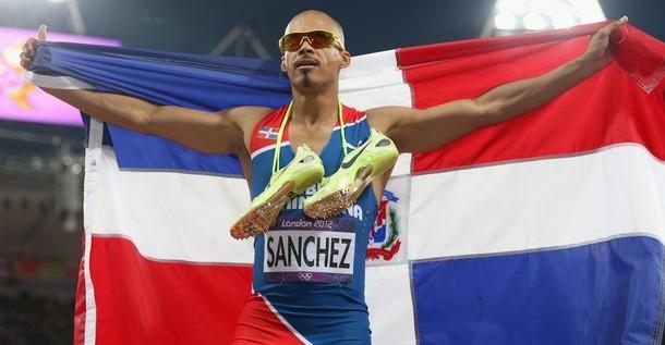 Apoteosis del atletismo dominicano con oro Félix Sánchez y plata Luquelín