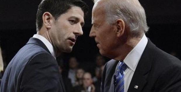 Empatan Biden y Ryan en debate vicepresidencial: sondeo