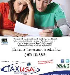 Tax USA Corp