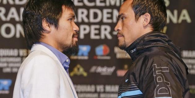 Márquez y Pacquiao prometen una guerra el próximo sábado