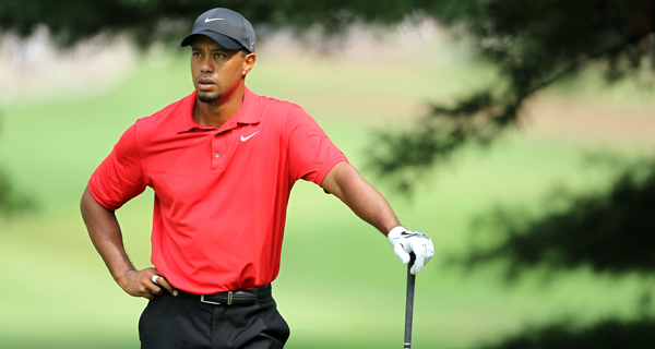 Tiger Woods, sin pena y sin gloria