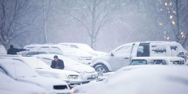 Cae primera nevada en el centro-norte de EEUU