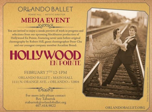 Orlando Ballet – Media Event