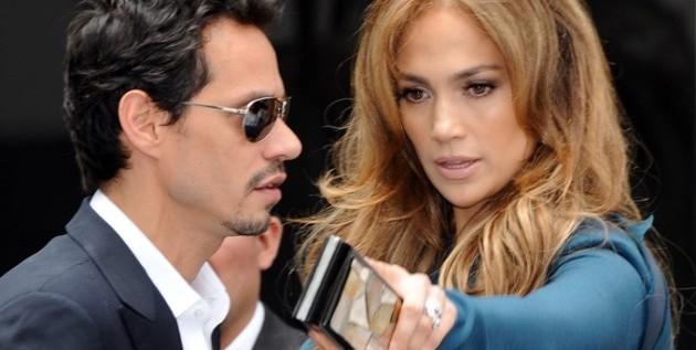 Marc Anthony y Jennifer Lopez, fugaz encuentro en Nueva York