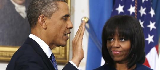 Obama se juramenta y arranca con 4 años más