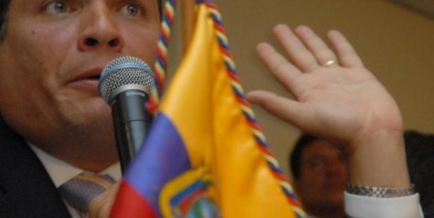 Correa reelegido con 56,7% según conteo rápido parcial
