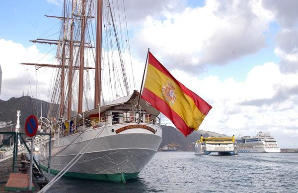 el buque en la armada espanola: