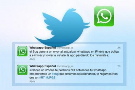 WhatsApp venció a Twitter