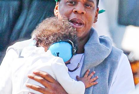 Jay-Z se 'derrite' cuando su hija le llama papá