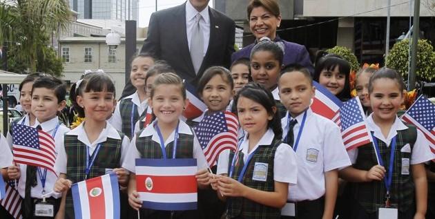 Barack Obama visita Centroamérica