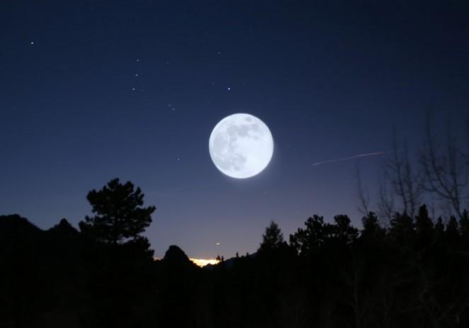 Espectáculo celeste: 'Luna de sangre' y Marte a simple vista en una sola noche