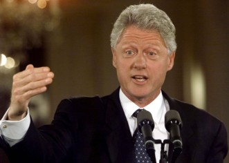 Abren documentos de la presidencia de Bill Clinton