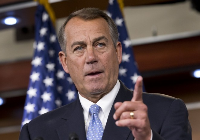 Durante discurso, Boehner se concentró en nuca de Obama