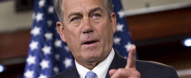 Boehner ve difícil aprobar reforma migratoria en Estados Unidos