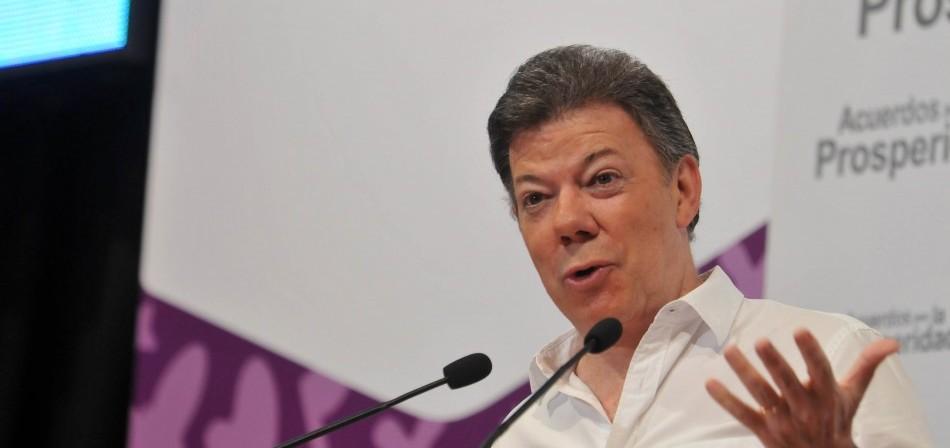"""Santos: Colombia es el país """"que más víctimas ha reparado"""""""