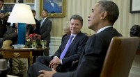 Obama y Santos estrechan alianza de EEUU y Colombia en Washington