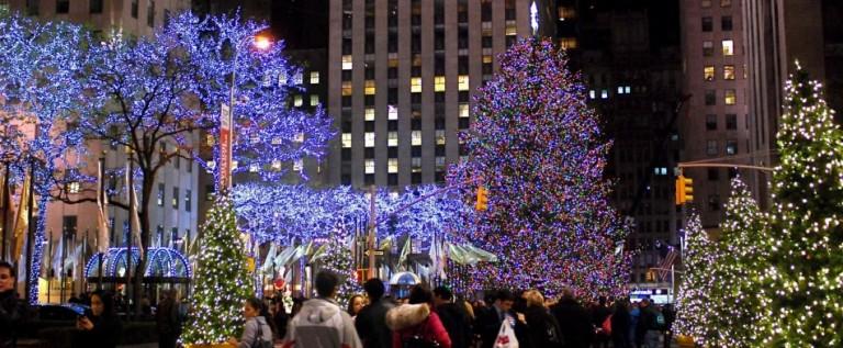El Rockefeller enciende su árbol de Navidad