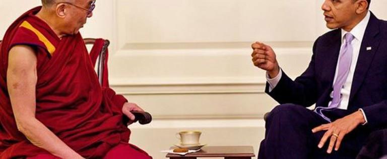 Obama recibe al Dalai Lama; China furiosa