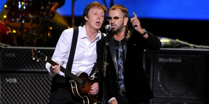 Paul y Ringo reviven a The Beatles