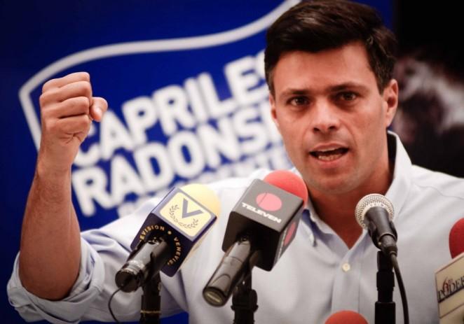 Venezolanos en Miami piden libertad de líder opositor Leopoldo López