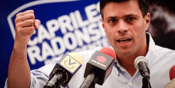 Opositor radical López enfrenta juicio por violencia en las protestas en Venezuela