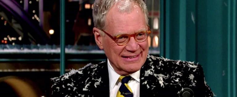 David Letterman anuncia que se retirará en 2015