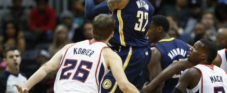 Hawks vuelven a sorprender a los Pacers en los playoffs de la NBA
