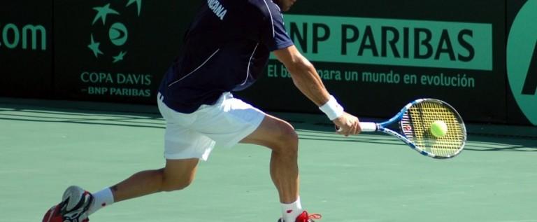 Victor Estrella, primer dominicano en un Grand Slam