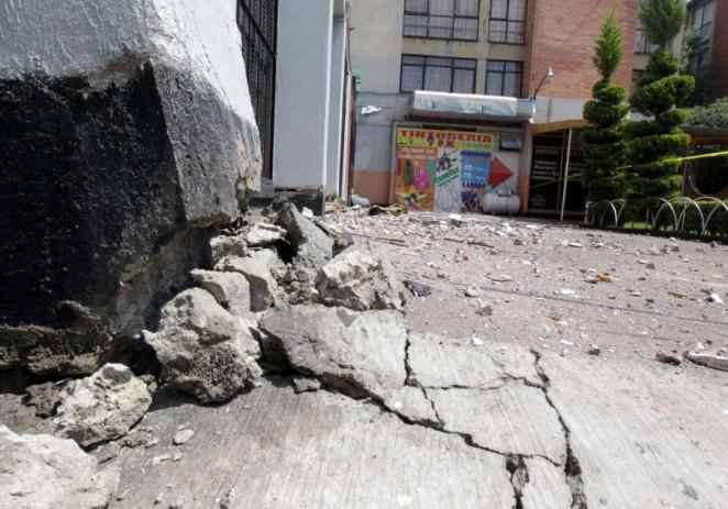 Fuerte sismo sacude Ciudad de México