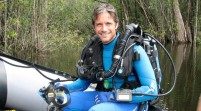 Un nieto de Jacques Cousteau busca perpetuar su legado con hazaña en aguas de Florida