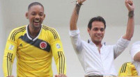 Will Smith a ritmo de salsa en Colombia