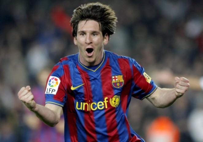 Messi iguala el récord de goles de Raúl en Liga de Campeones