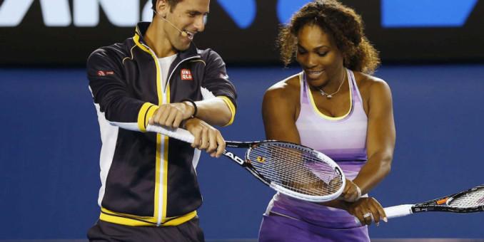 Serena y Djokovic airosos en el US Open