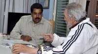 Fidel Castro anunció sorpresiva reunión con Maduro en Cuba