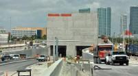 El túnel del puerto de Miami empezará a funcionar el domingo