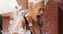 Balde de agua helada: celebridades se divierten por una buena causa