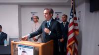 Candidato presidencial dominicano Luis Abinader visita Miami
