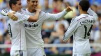 Real Madrid golea 8-2 a Deportivo, Atlético empata
