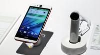 HTC presentó un smartphone para selfies y una pequeña cámara