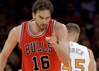Pau Gasol y los Bulls aplastan a Knicks