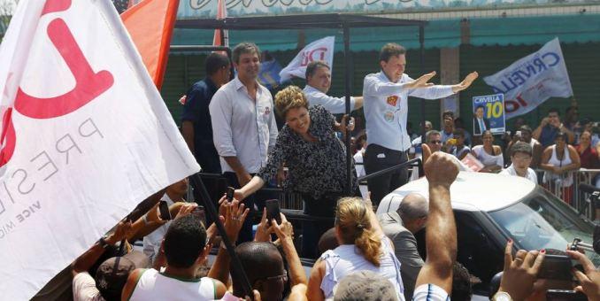 Economía y bienestar social dividen voto en Brasil