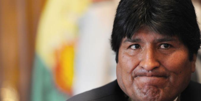 Evo Morales, el candidato contradictorio